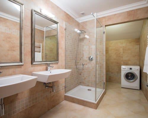 Drzwi jednoskrzydlowe do kabin prysznicowych