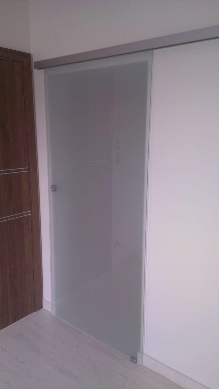 Drzwi szklane rozsuwane