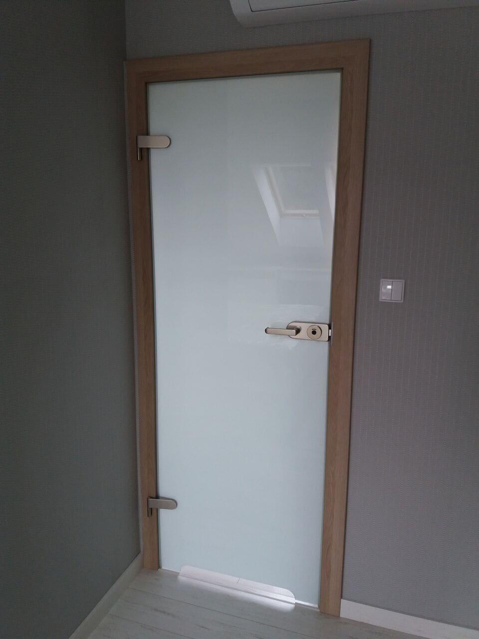 Drzwi szklane rozwierane
