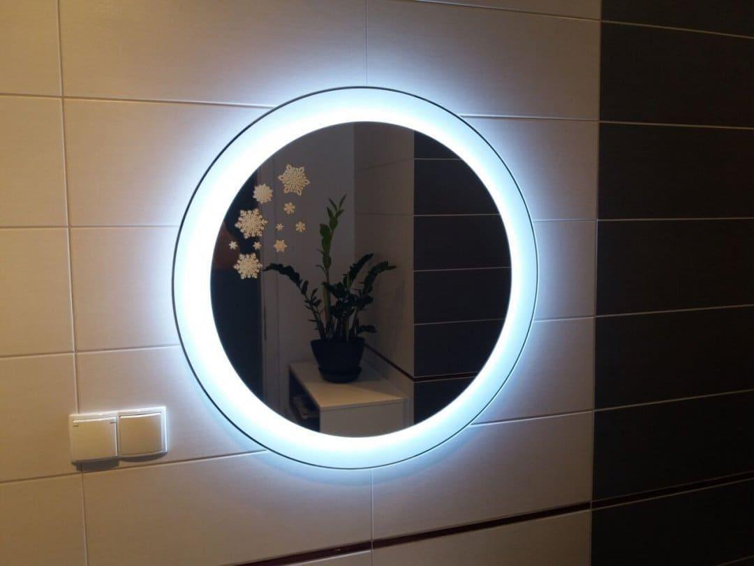 Podświetlane lustro